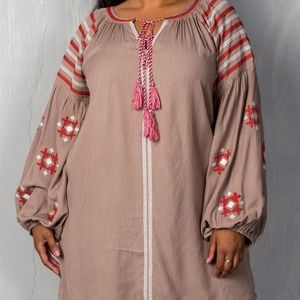 Tribal Embroidered Dress!!